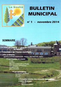 bulletin municipal n°1 novembre 2014