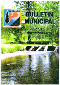 bulletin municipal n°3 novembre 2015