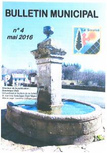 bulletin municipal n°4 mai 2016