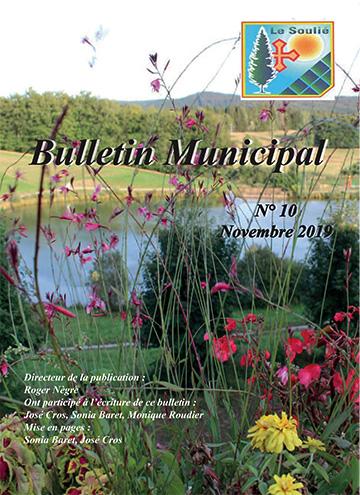 Le Soulié. Bulletin municipal n°10