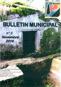 bulletin municipal n°5  novembre 2016